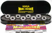 NINJA MINI-MISER BLACK ABEC9 PEN CASE
