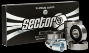 SECTOR 9 PLATINUM BEARINGS ABEC9