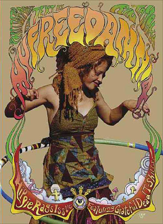 MY FREEDAMN 4 HIPPIE RAGS ISSUE 1