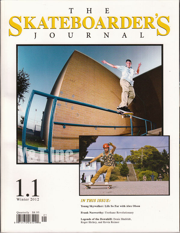 SKATEBOARDERS JOURNAL 1-1 1