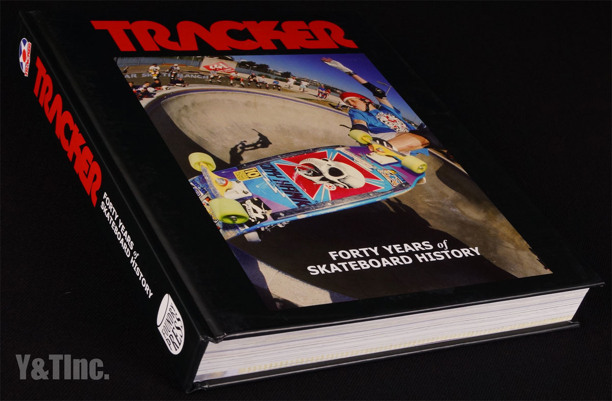 TRACKER FORTY YEARS OF SKATEBOARD HISTORY HARDCOVER 1