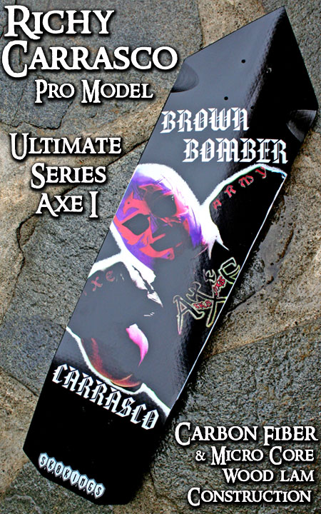 SK8KINGS ULTIMATE AXE1 BROWN BOMBER 1