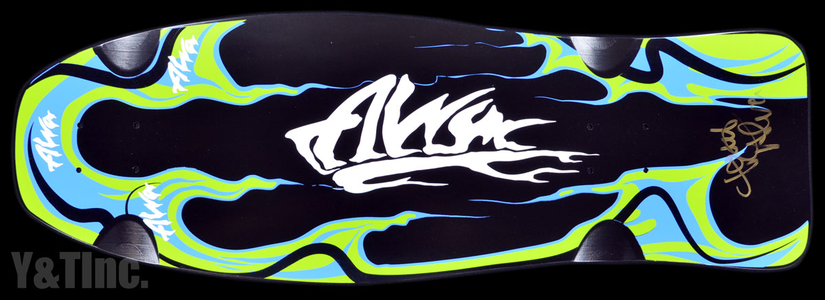 ALVA GREEN FLAME SIGNED LTD 1
