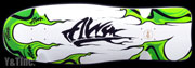ALVA MODERN AGGRESSION FISH WHITE GREEN