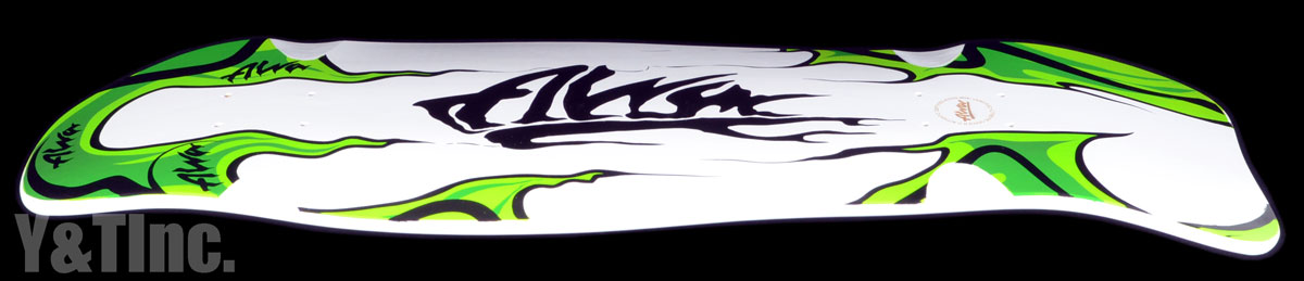 ALVA MODERN AGGRESSION FISH WHITE GREEN 1