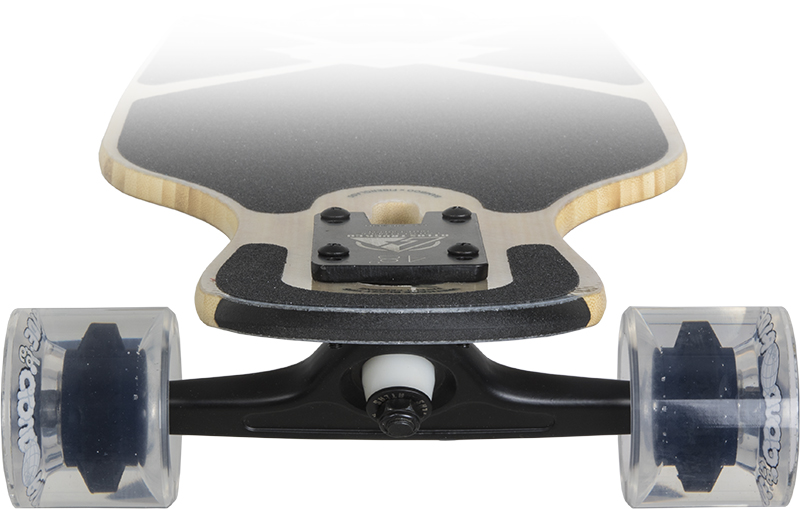 DB LONGBOARDS COMPOUND FLEX2 RED 1