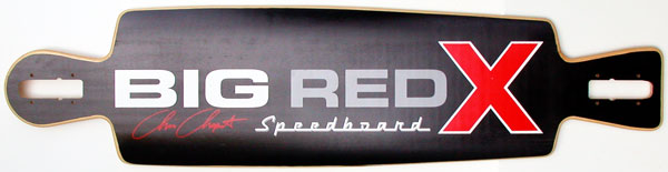BIG RED X SPEED BOARD BLACK 1
