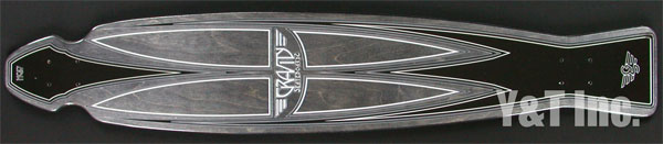GRAVITY HYPER CARVE CLASSIC BLACK STAIN 1