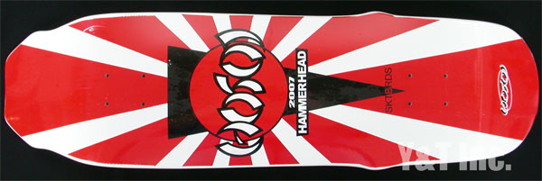 HOSOI HAMMERHEAD 2007 RED WHITE 1
