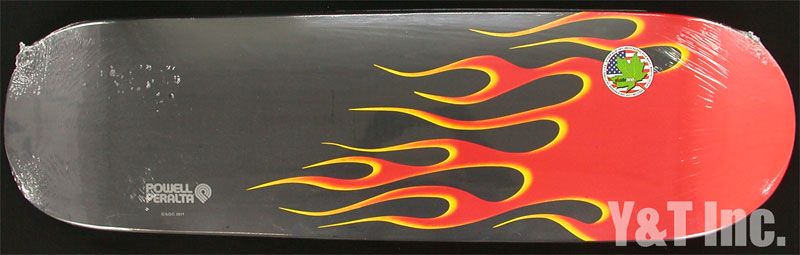 POWELL PERALTA HOT ROD FLAMES RED BLACK 1