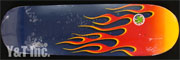 POWELL PERALTA HOT ROD FLAMES RED NAVY