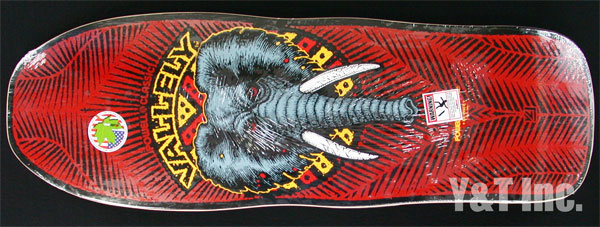POWELL PERALTA VALLELY ELEPHANT RED 1