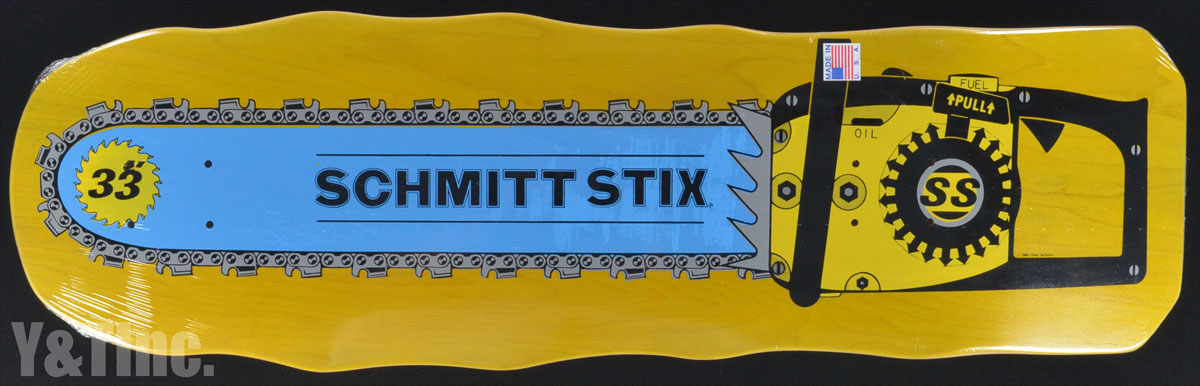 SCHMITTSTIX CHAINSAW Yellow 1