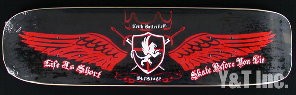 SK8KINGS FREESTYLE KEITH BUTTERFIELD PRO BLACK 1