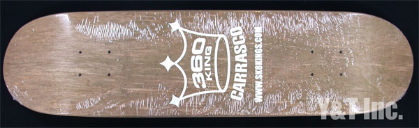 SK8KINGS STREET 360 KING GLOW IN DARK BROWN 1