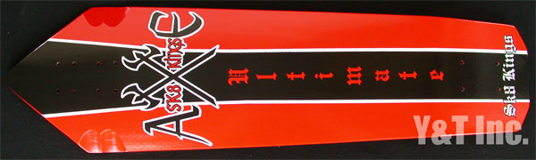 SK8KINGS ULTIMATE AXE2 RED BLACK 1