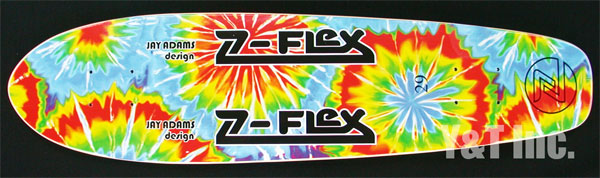 Z-FLEX CRUISER JAY-ADAMS DESIGN YELLOW 1