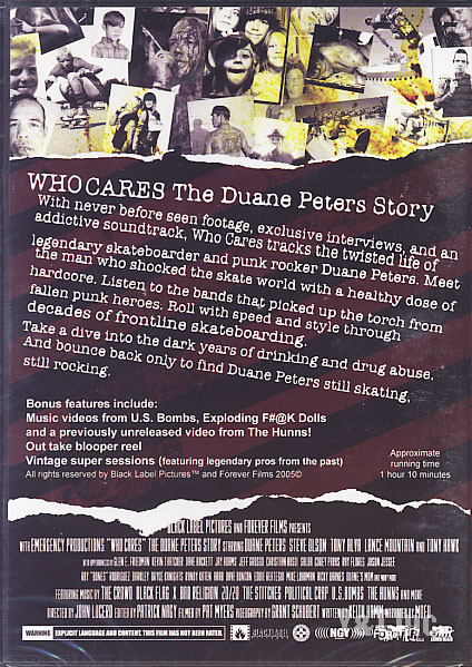 DUANE PETERS STORY WHO CARES 1