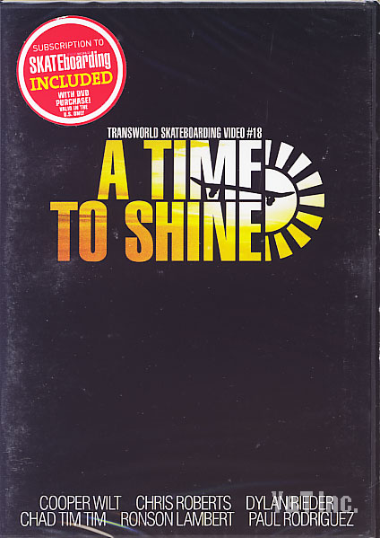 TRANSWORLD A TIME TO SHINE 1