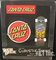 TECH DECK SANTA CRUZ JASON JESSEE FLAMES