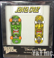 TECH DECK SANTA CRUZ ROB ROBSKOPP LEE SMITH