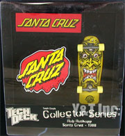 TECH DECK SANTA CRUZ ROB ROSKOPP YELLOW