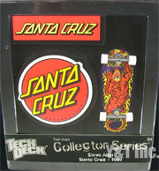 TECH DECK SANTA CRUZ STEVE ALBA TIGER