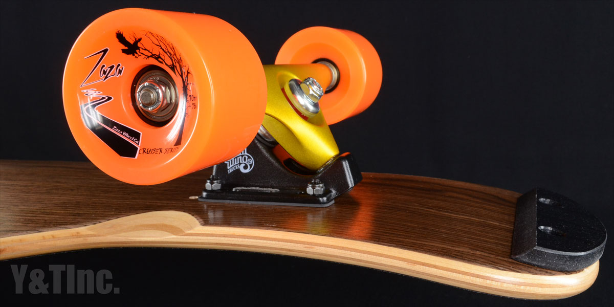 BLANK DANCER 4895 Darkwalnut Charger10 Zaza70mm Skid 1