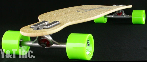 LOADED DERVISH BAMBOO42 FLEX2 RANDAL ABEC11 BIGZIG 75mm 80a 1