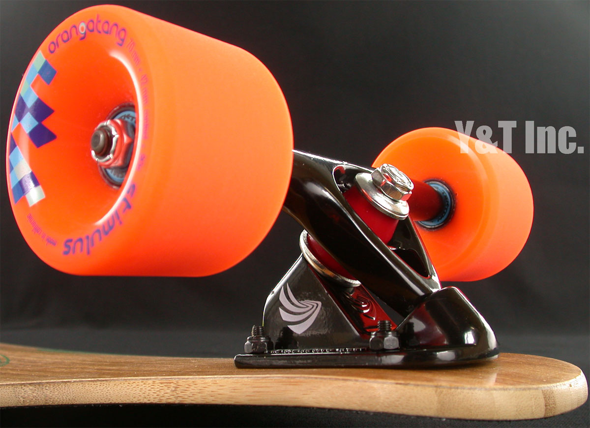 LOADED FATTAIL F3 PARIS150 BLACK STIMULUS 70mm 80a 1