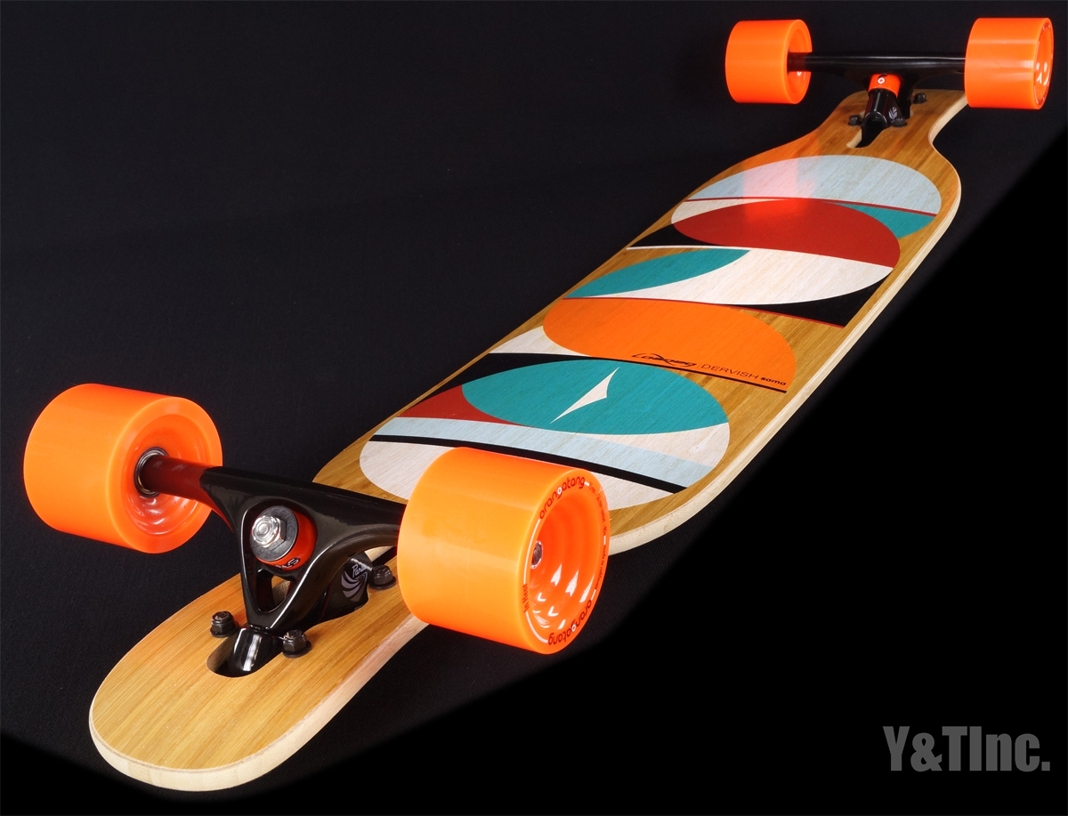 LOADED DERVISH SAMA FLEX3 PARIS 180BK IN HEAT75mm80a 5