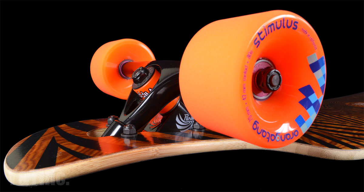 LOADED TAN TIEN 2017 F2 PARIS BLACK STIMULUS 70mm 80a 1