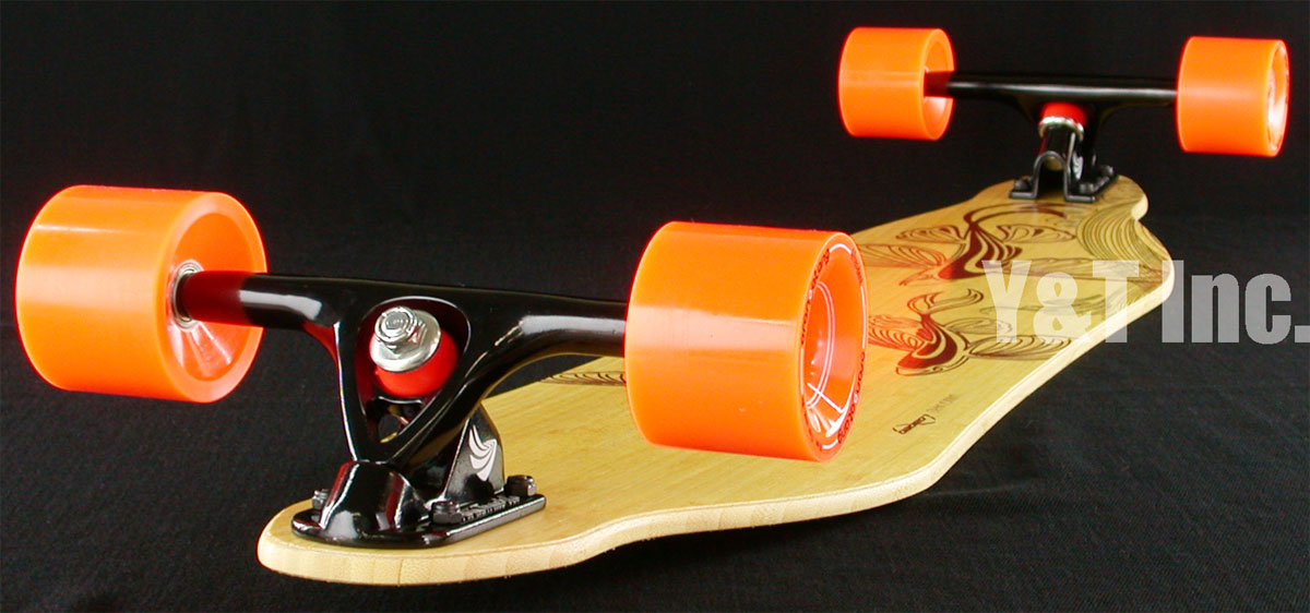 LOADED VANGUARD BAMBOO38 F5 PARIS BLACK ORANGATANG 70mm 80a 5