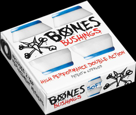 BONES HARDCORE BUSHING WHITE SOFT 1