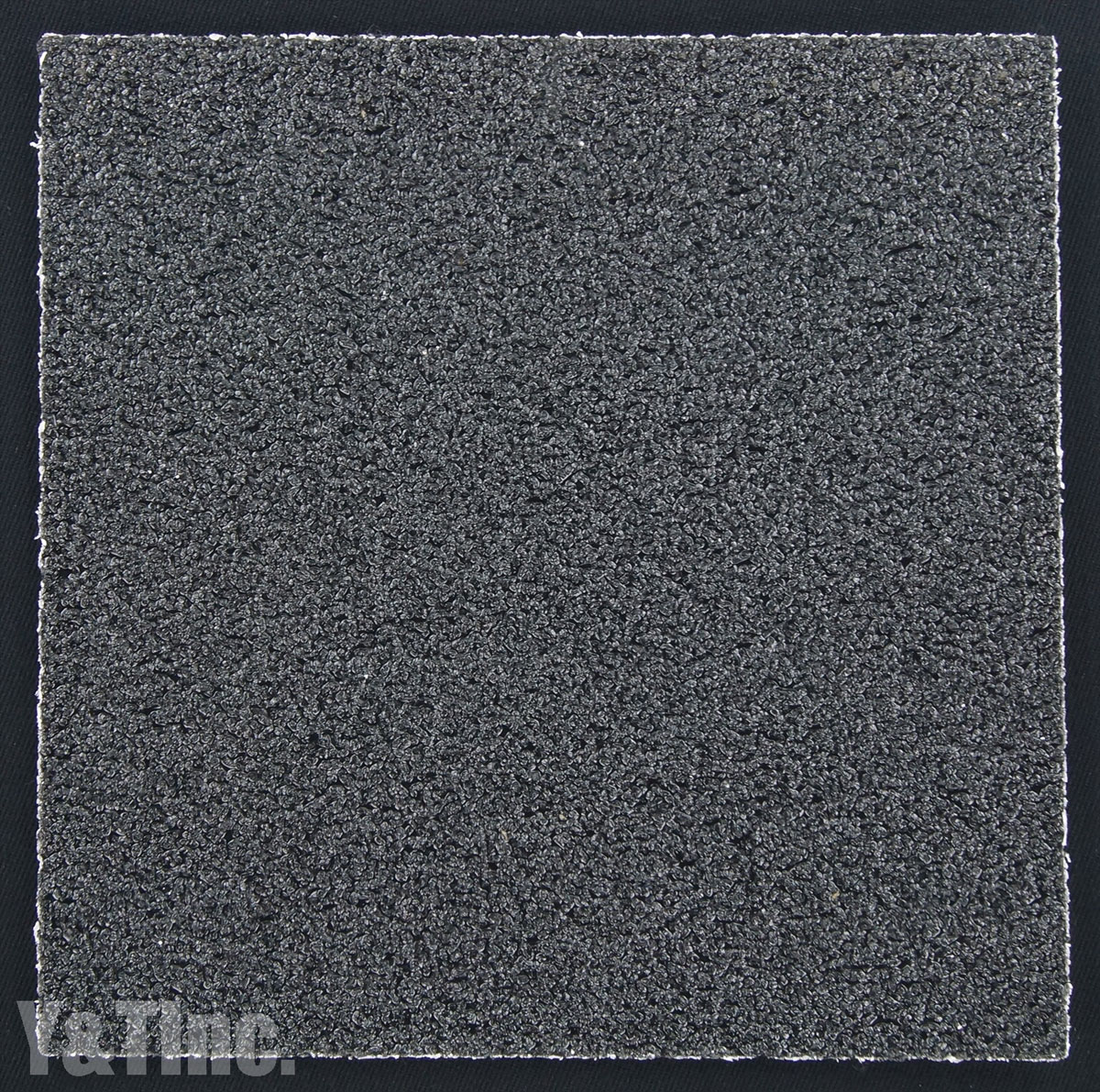 BLANK HARD GRIP 11x11 BLACK 1