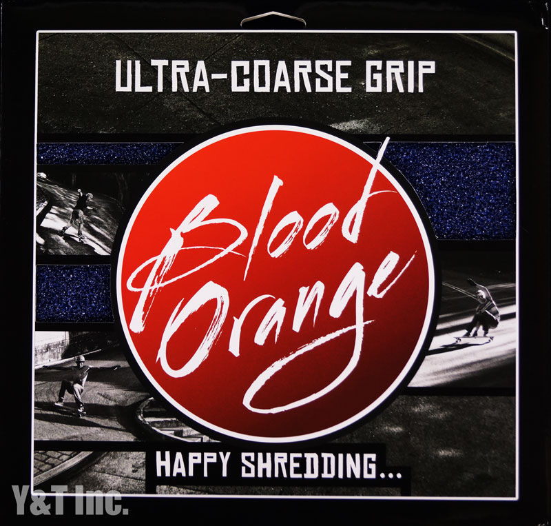 BLOOD ORANGE GRIP X-COARSE 4PAC BLUE 1