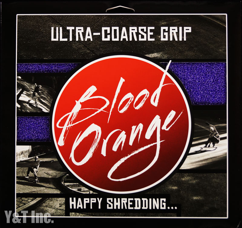 BLOOD ORANGE GRIP X-COARSE 4PAC PURPLE 1