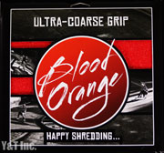 BLOOD ORANGE GRIP X-COARSE 4PAC RED