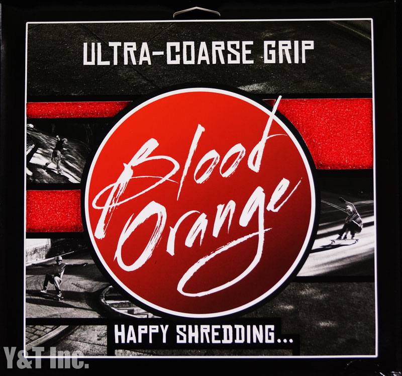 BLOOD ORANGE GRIP X-COARSE 4PAC RED 1