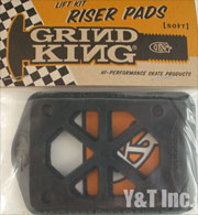 GRIND KING RISER SOFT BLACK