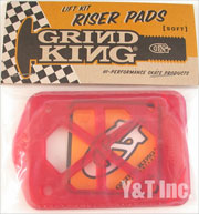 GRIND KING RISER SOFT RED