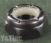 NUT BLACK 6mm