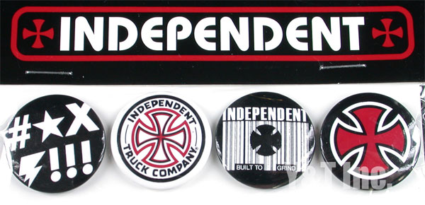 INDEPENDENT RUGGED PIN SET 1