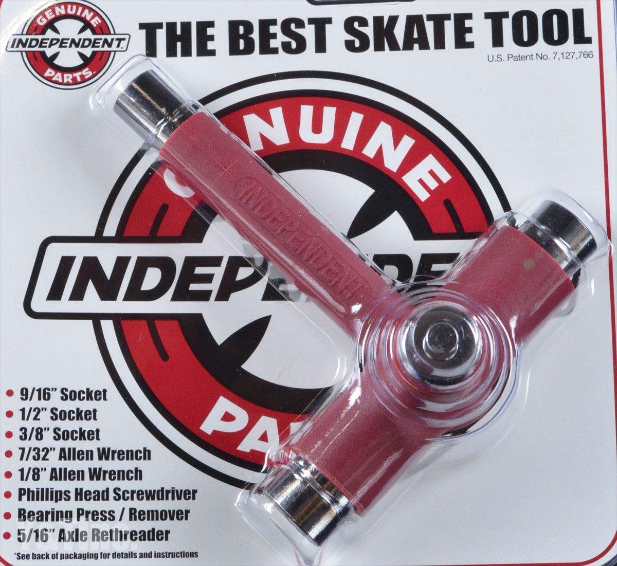 INDEPENDENT BEST SKATE TOOL RED 1