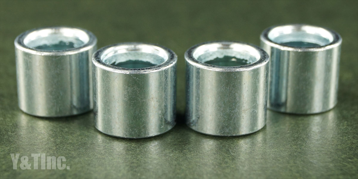 KHIRO BEARING SPACER 10mm SILVER 1