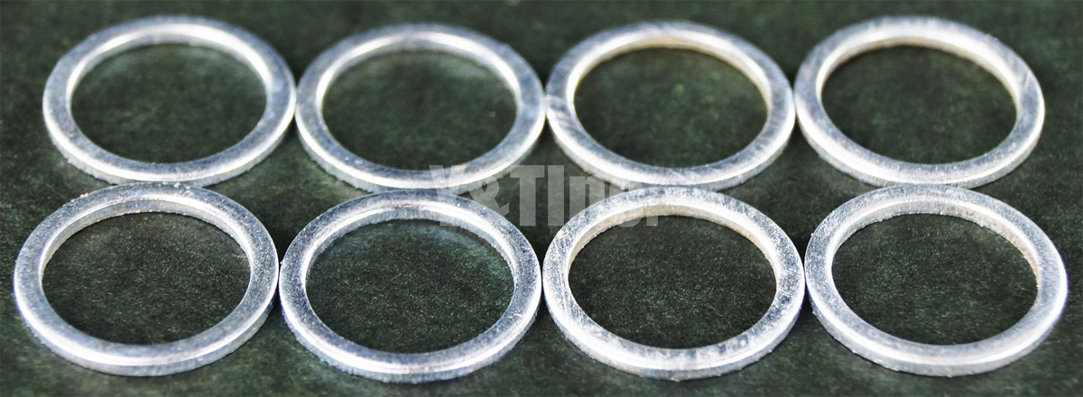 SPEED RING SILVER 8PC 1