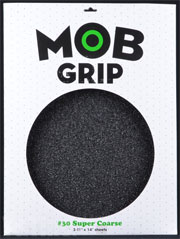 MOB GRIP SHEET 11x14 SUPER COARSE 30 GRIT BLACK