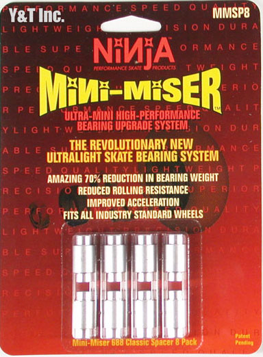 NINJA MINI-MISER SPACER TYPE-A MMSP8 1