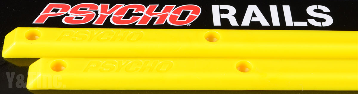 PSYCHO RAILS 14 Yellow 2