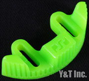 RIPTIDE FOOTSTOP OUT-SIDE CONVEX GREEN